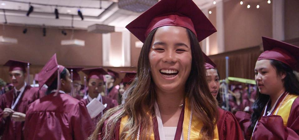 The film follows the college admissions journeys of several students — one of them is Lowell high school student, Sophia Wu.