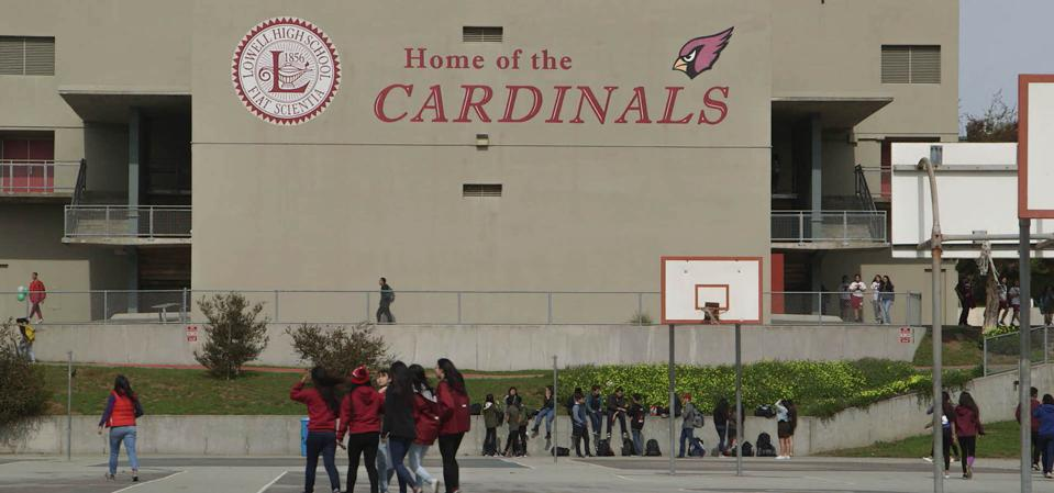 The documentary centers around students from Lowell High School as they navigate the college application process.