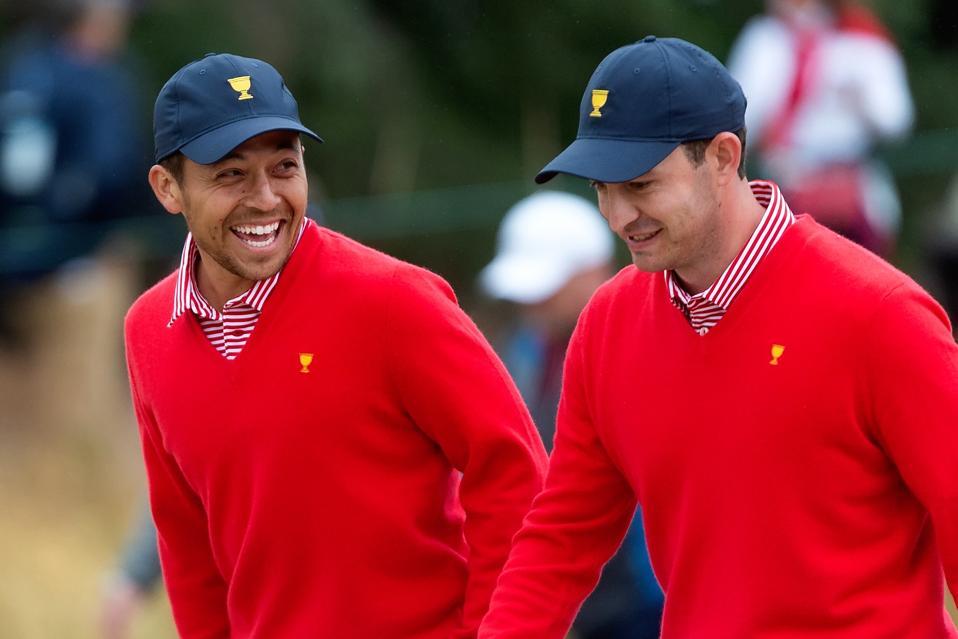 Xander Schauffele  & Patrick Cantlay: DEC 12 PGA - Presidents Cup