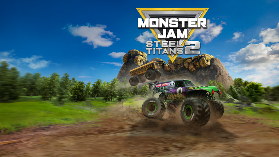 'Monster Jam Steel Titans 2' key art