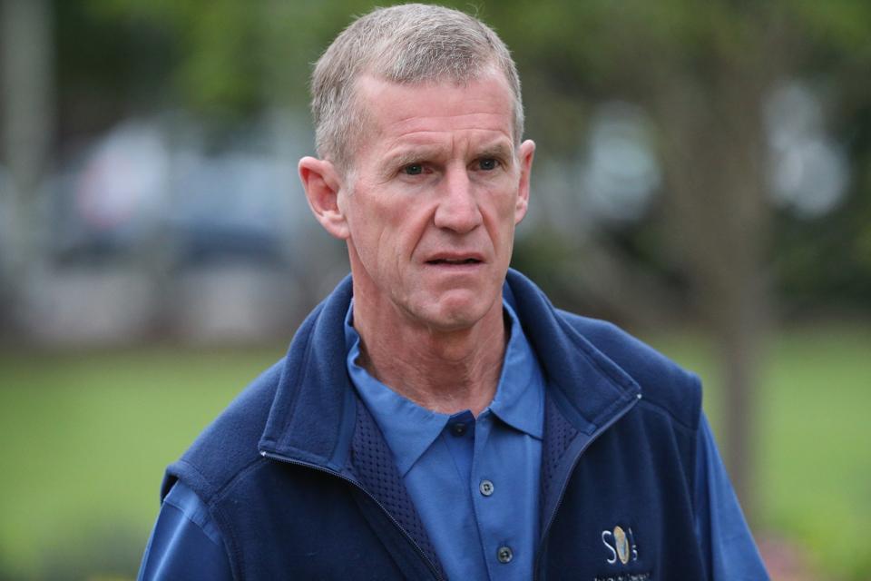Retired Army General Stanley McChrystal