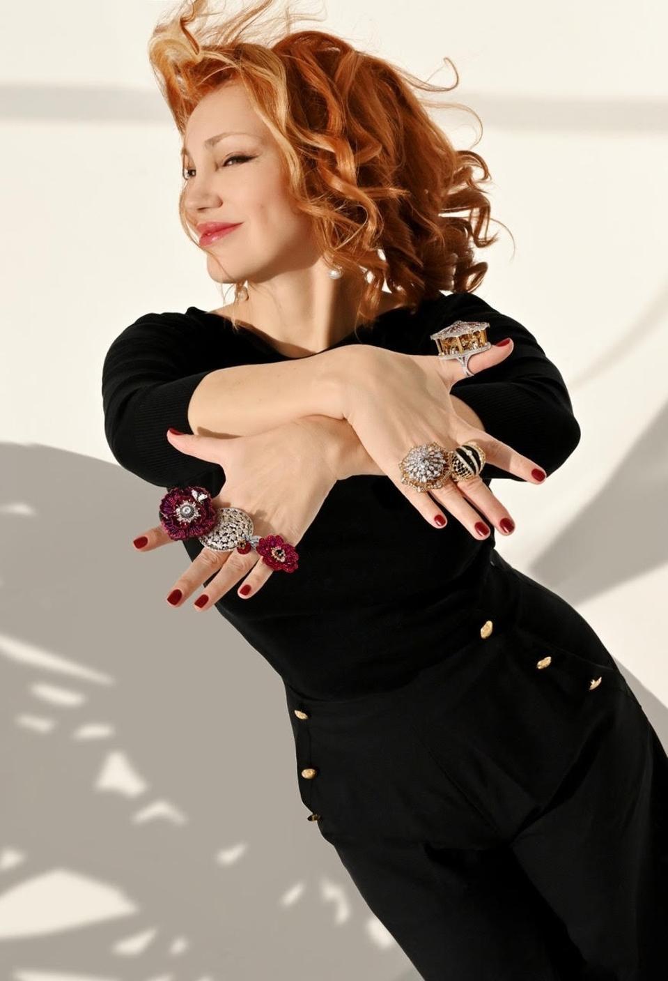 Margarita Prykhodko, founder and creative director of London-based Sybarite Jewellery