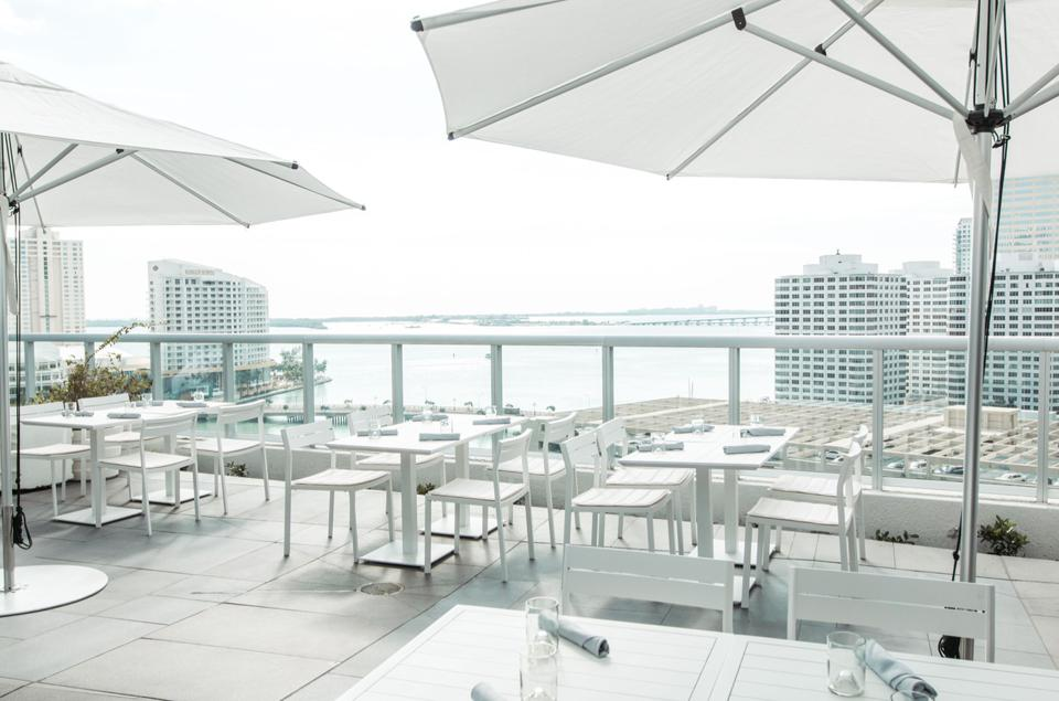 BRICKELL, MIAMI - View of from Addikt at the W Miami