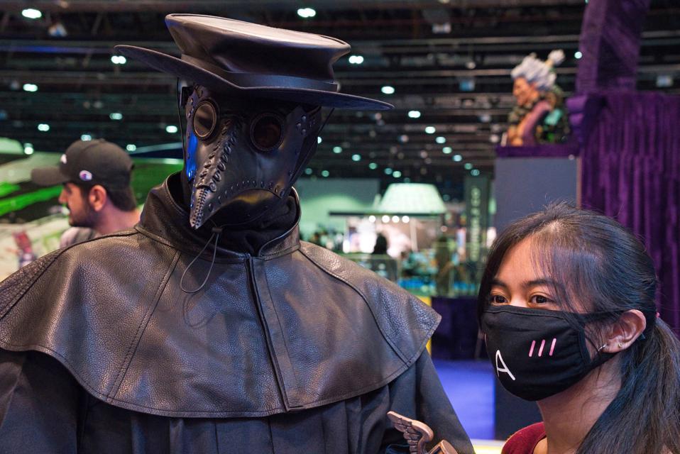 Virus Outbreak Mideast Comic Con