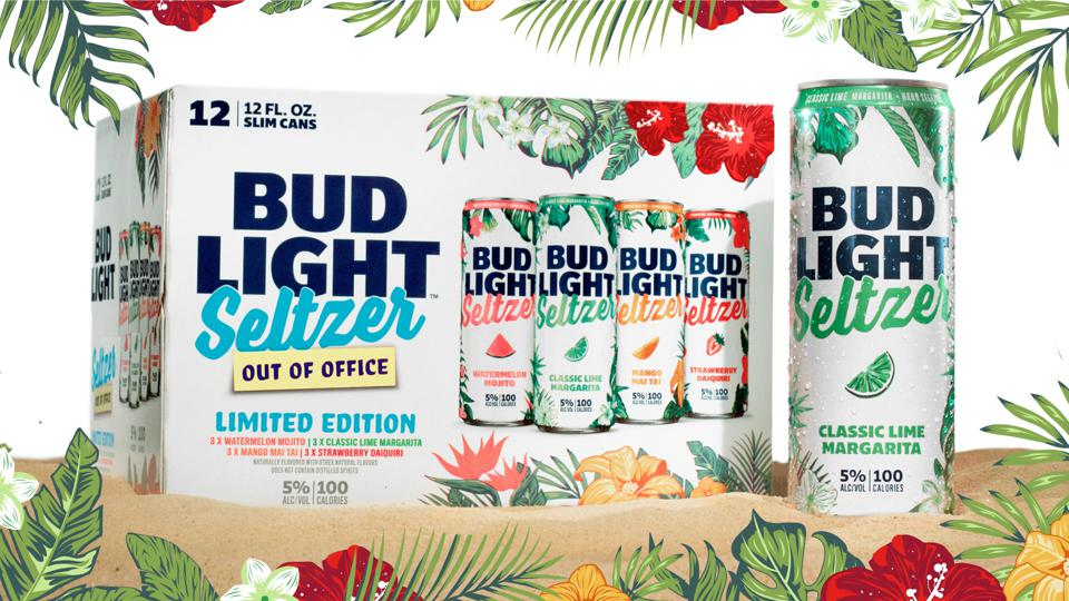 The new Bud Light Seltzer ″Out of Office″ variety pack