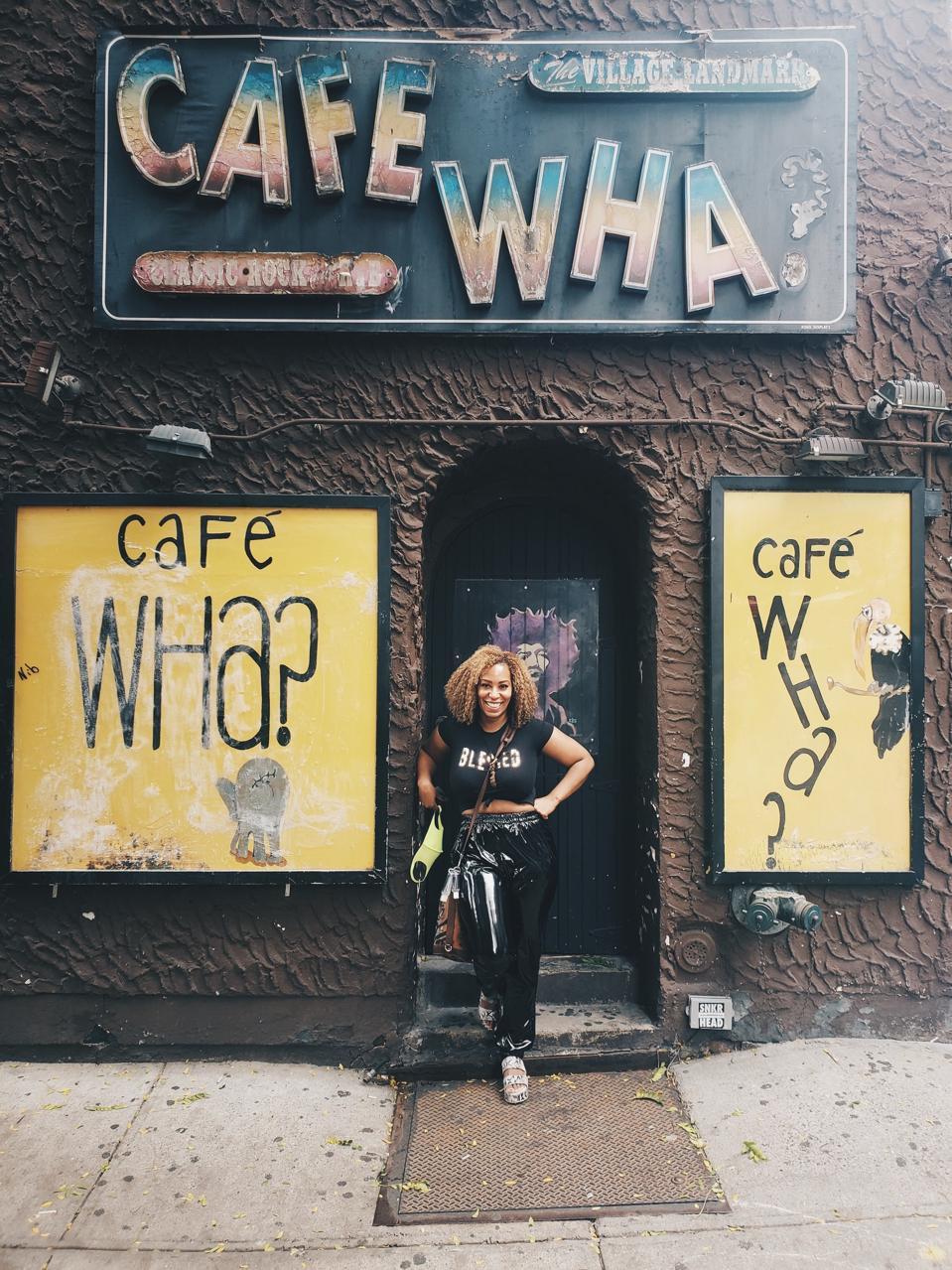 RaVal Davis at Cafe Wha?