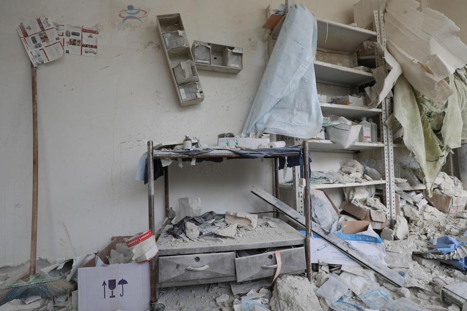SYRIA-IDLIB-CONFLICT-HEALTH