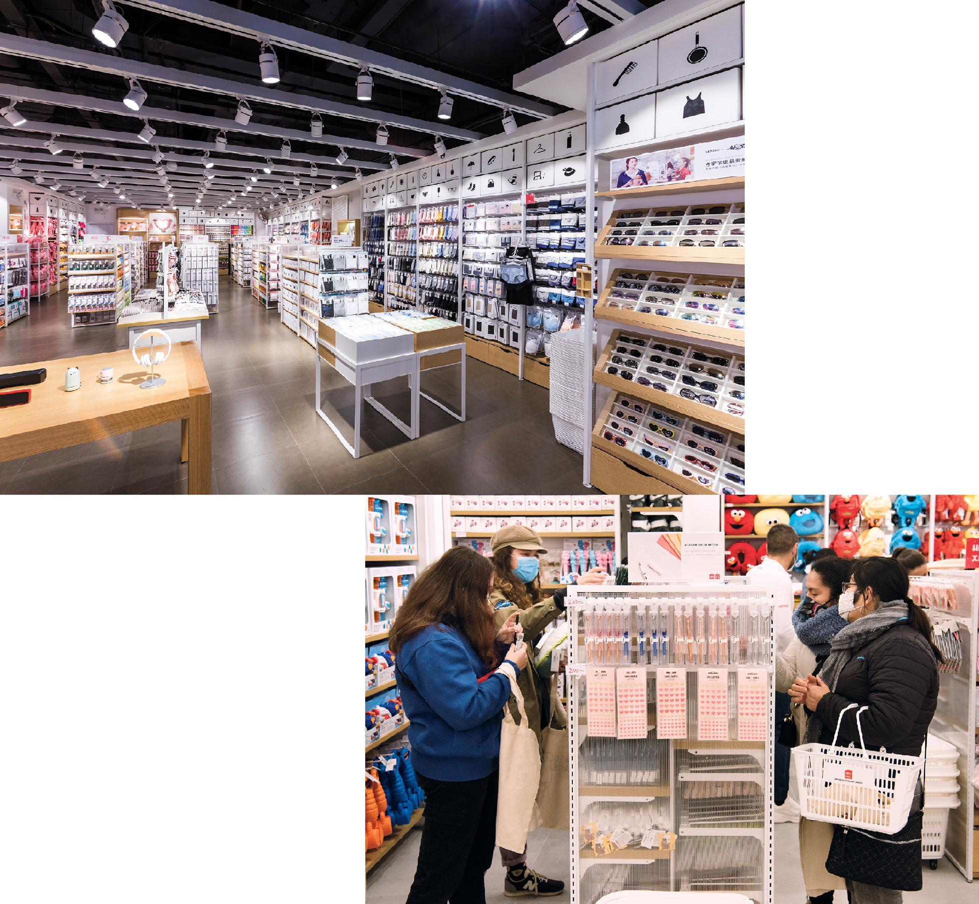 Miniso outlets in China