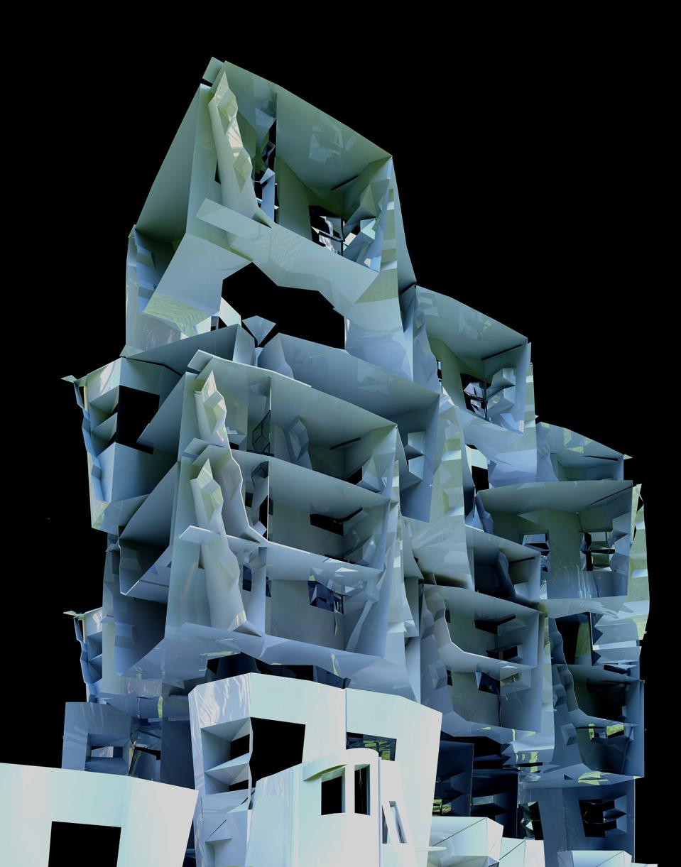 buildings made on architectural design program