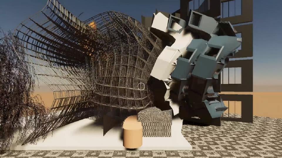 architecture design program abstract art