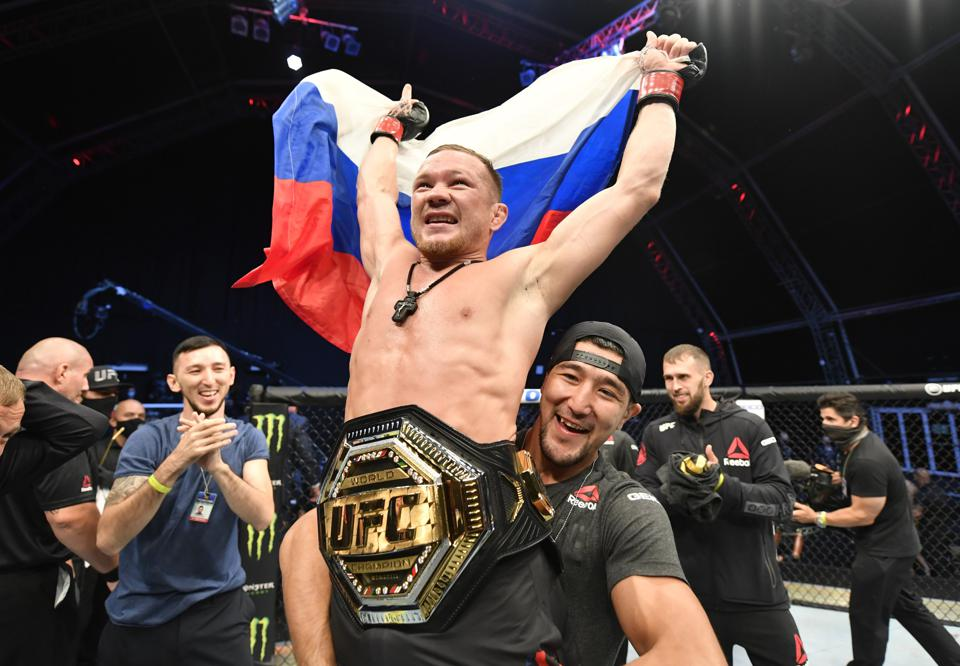 Petr Yan puts his UFC bantamweight title on the line against Aljamain Sterling in the main event of Saturday's UFC 259 fight card.