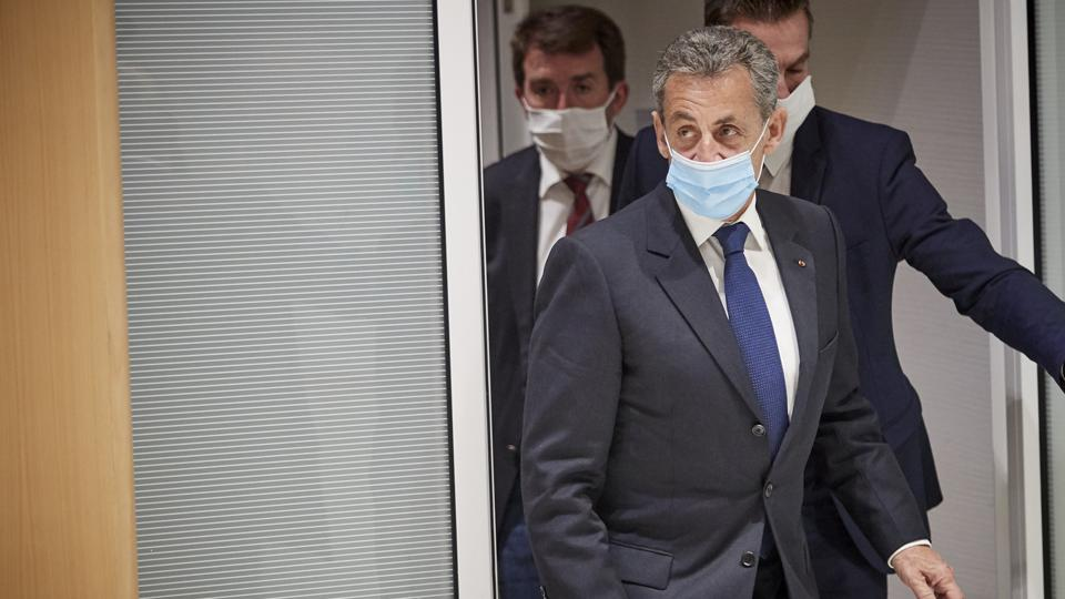 Former French President Sarkozy's Corruption Trial Hearing
