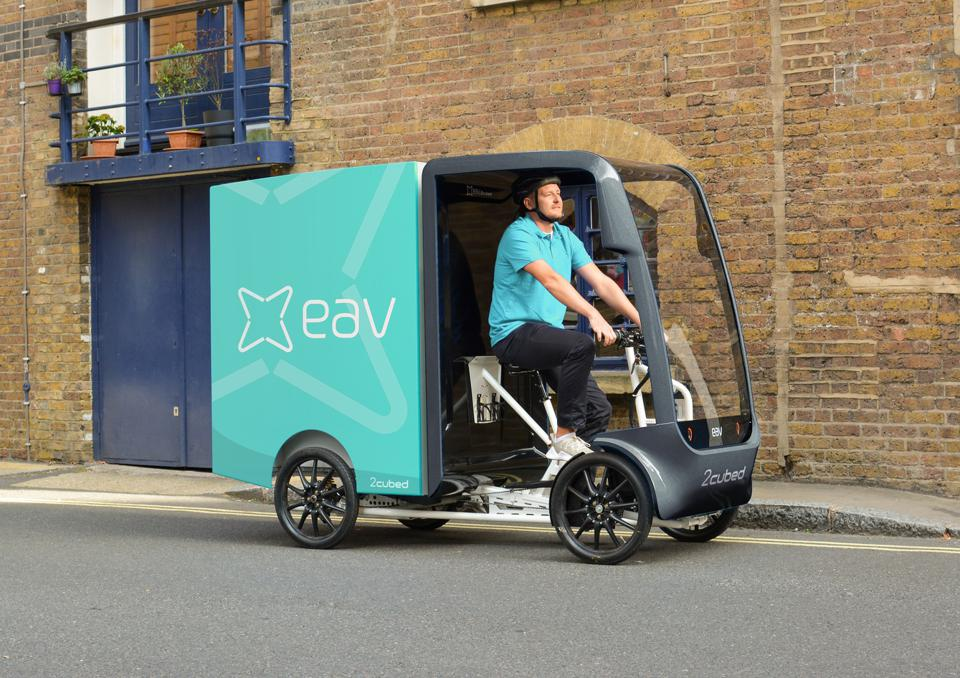 EAV plans to use Revonte's drive system to power its cargo ebikes.