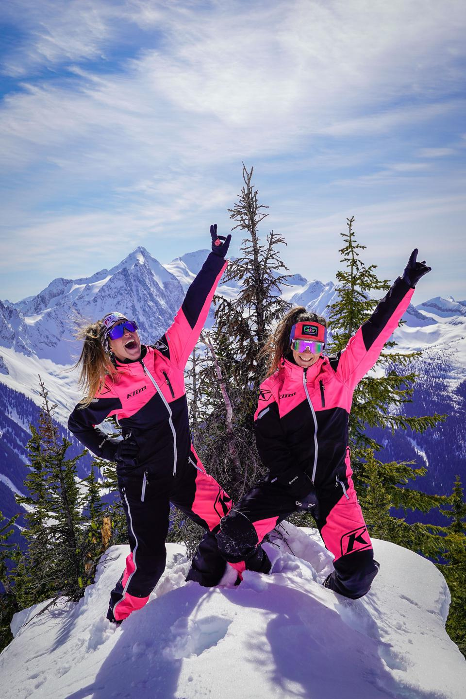 Women are being empowered to rise to the peak of the mountain in adventure sports.