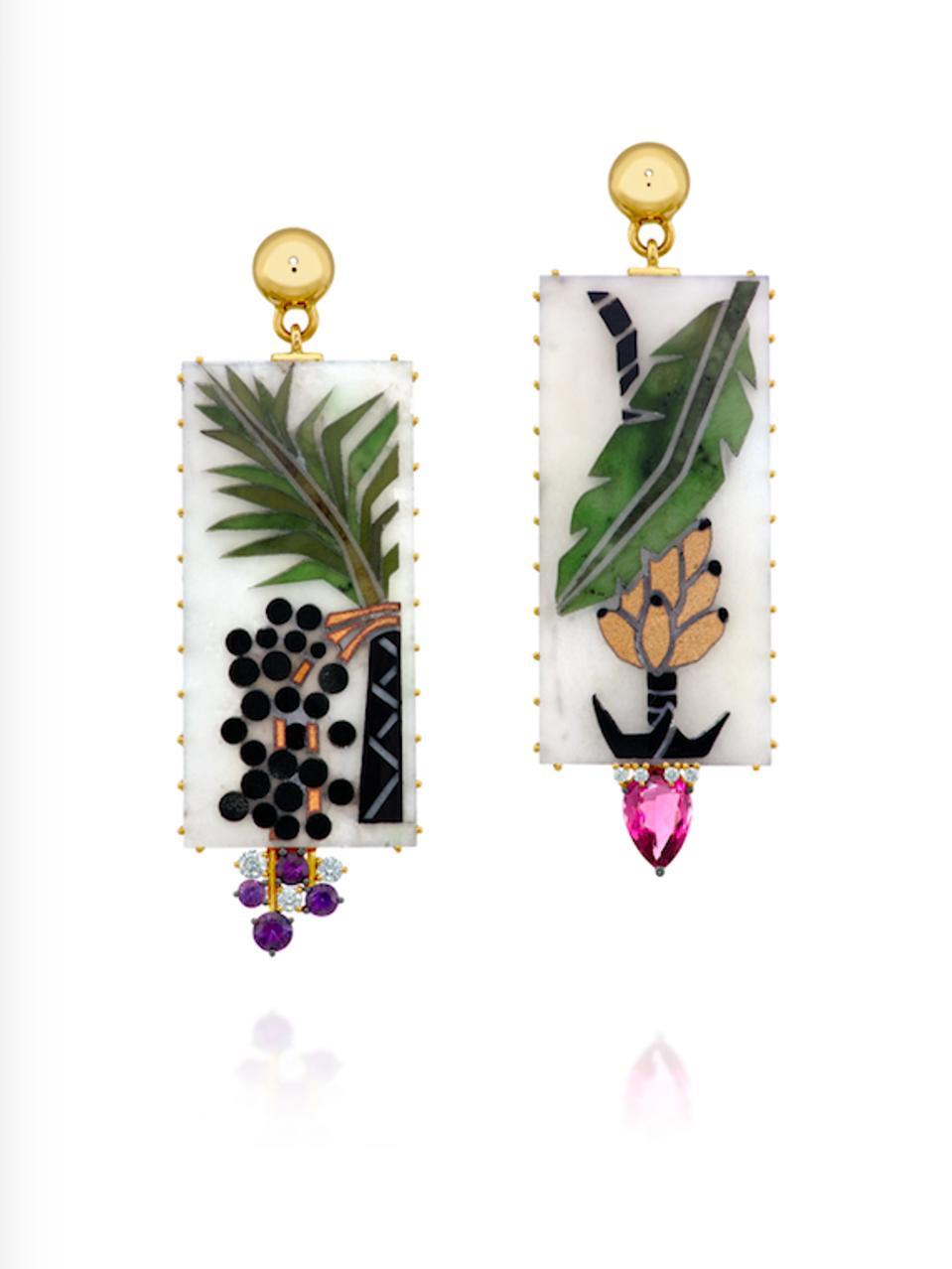 Bananarama earrings by Souer
