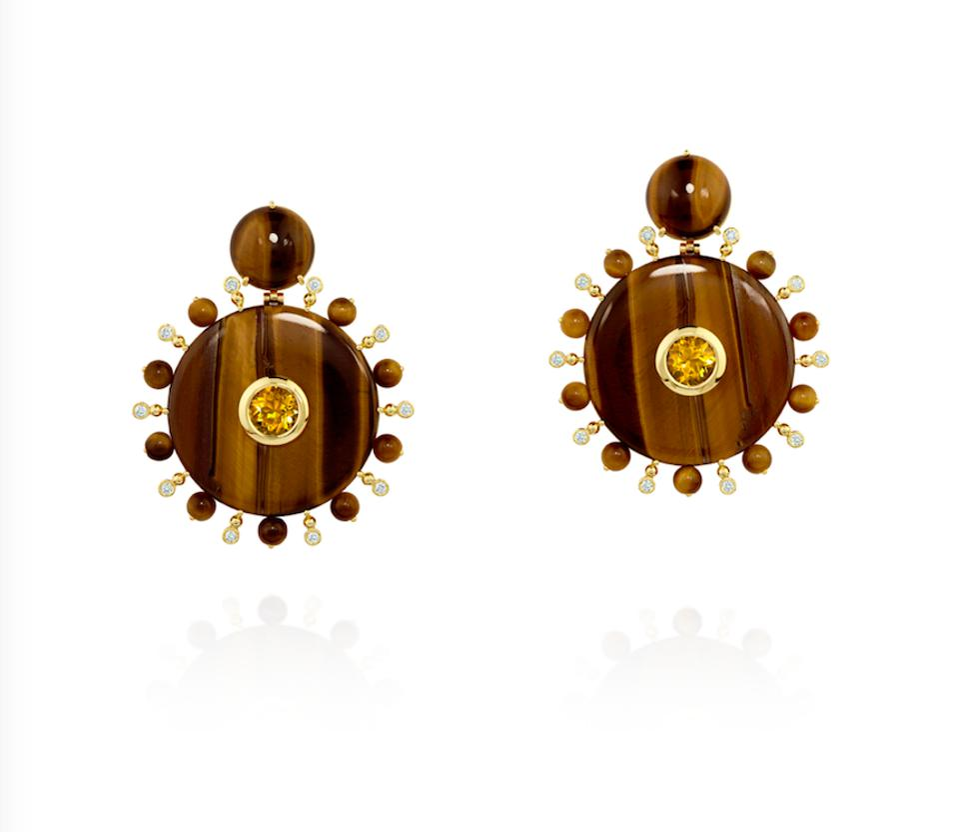 Solar Plexus earrings