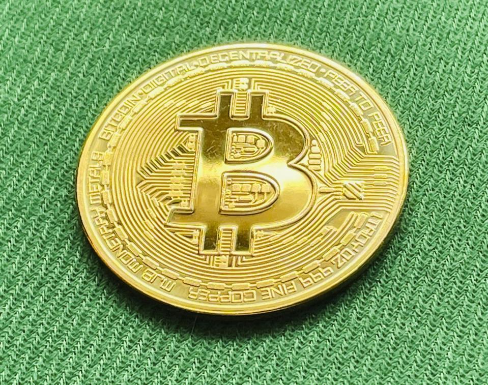 Bitcoin behind the 8 ball as bond yields surge