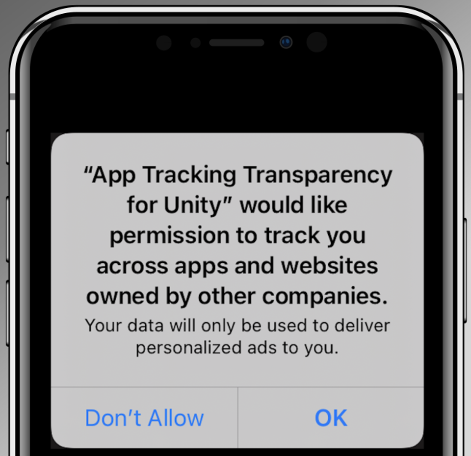 Apple's new app tracking transparency pop-up will show in iOS 14.5 every time you install an app, if the app's publishers want to track marketing performance.