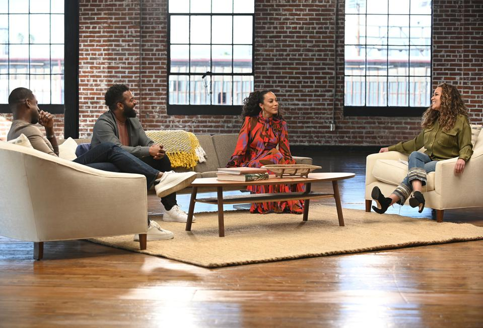 STERLING K. BROWN, BARATUNDER THURSTON, ANGELA RYE, and SUNNY HOSTIN in conversation on ″Soul of a Nation.″