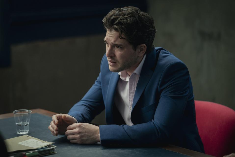 Kit Harington stars in 'Criminal: UK' on Netflix.