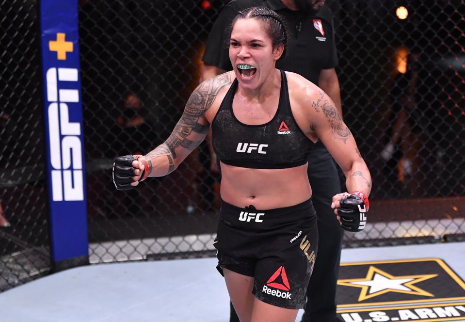 Amanda Nunes faces Megan Anderson in the co-main event of Saturday's UFC 259 pay-per-view card.