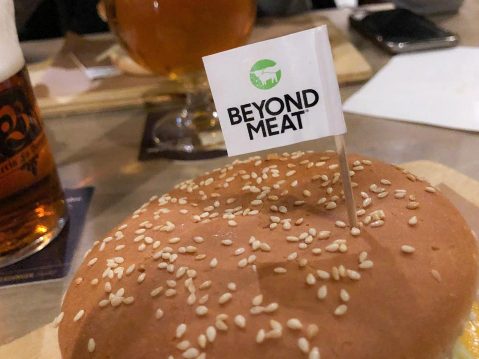 Beyond Meat Hamburger