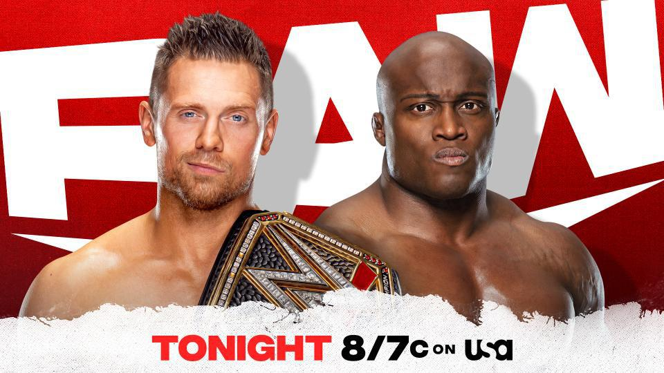The Miz vs. Drew McIntyre for the WWE Championship on WWE Raw