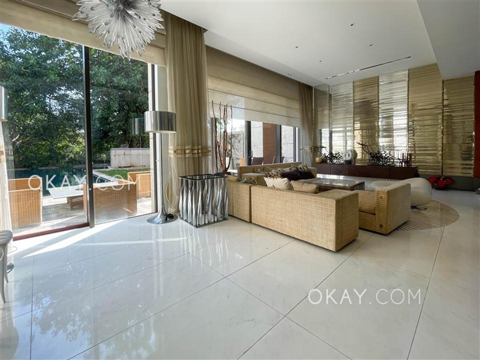 living room and pool 28&33 Kwu Tung Road, Sheung Shui