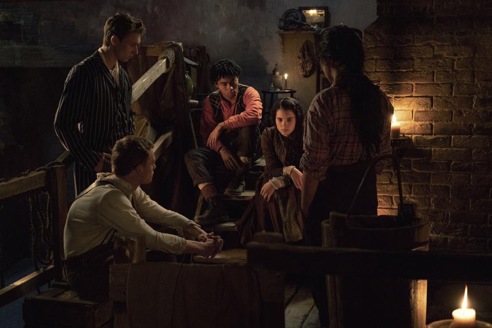 Netflix's new British drama 'The Irregulars' premieres in March.