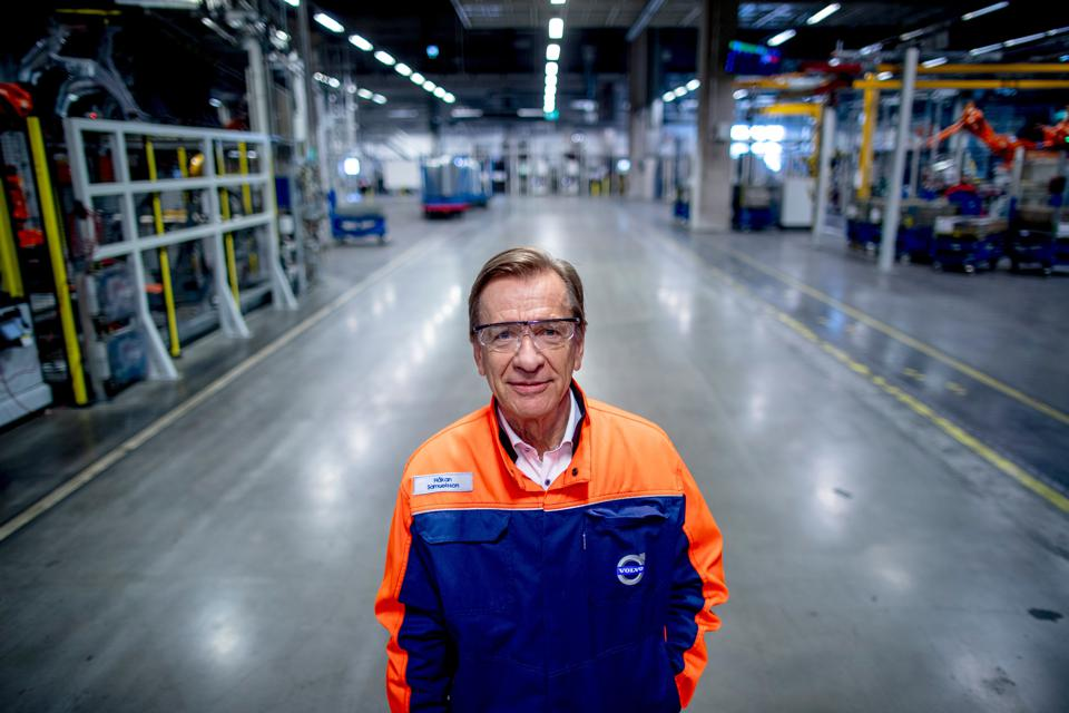 Volvo CEO Hakan Samuelsson says it will sell its last combustion engine in 2029.