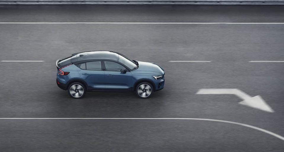 All-electric 2021 Volvo C40