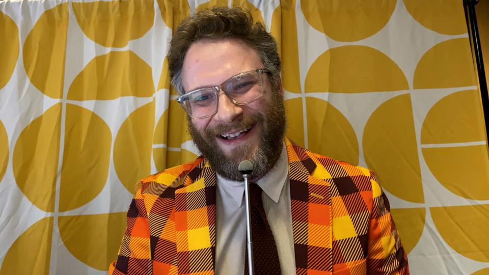 Seth Rogen Hosts Hilarity For Charity's Head To Head Virtual Game Night, Presented By Biogen