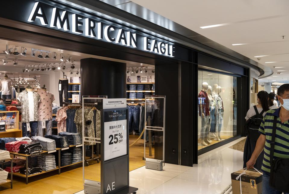 American clothing and accessories retailer American Eagle...