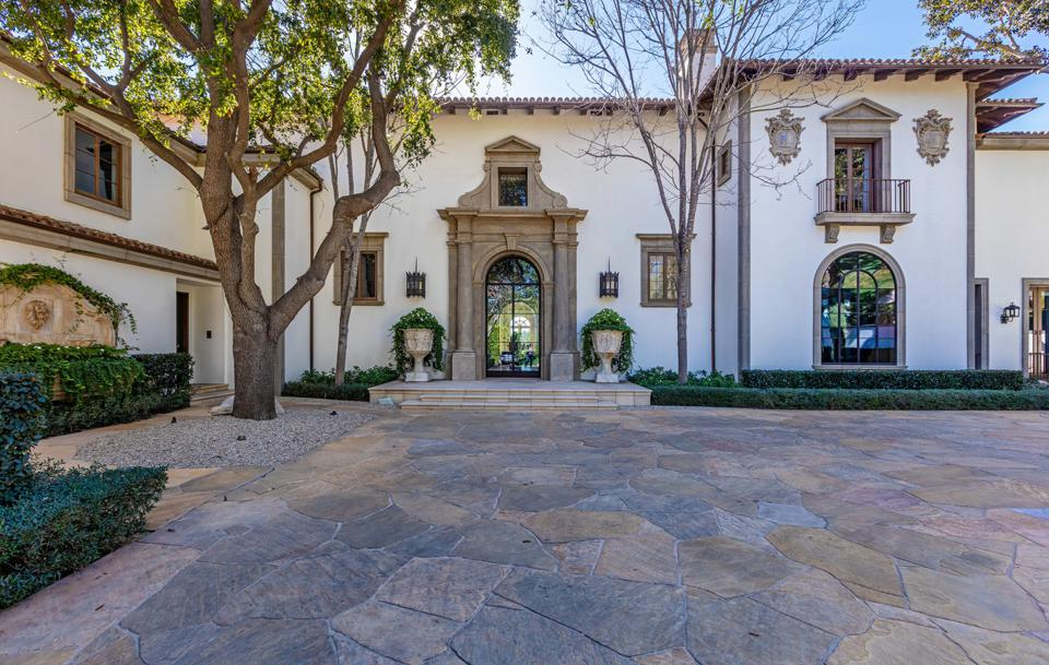 sylvester stallone beverly hills home designed by architect richard landry