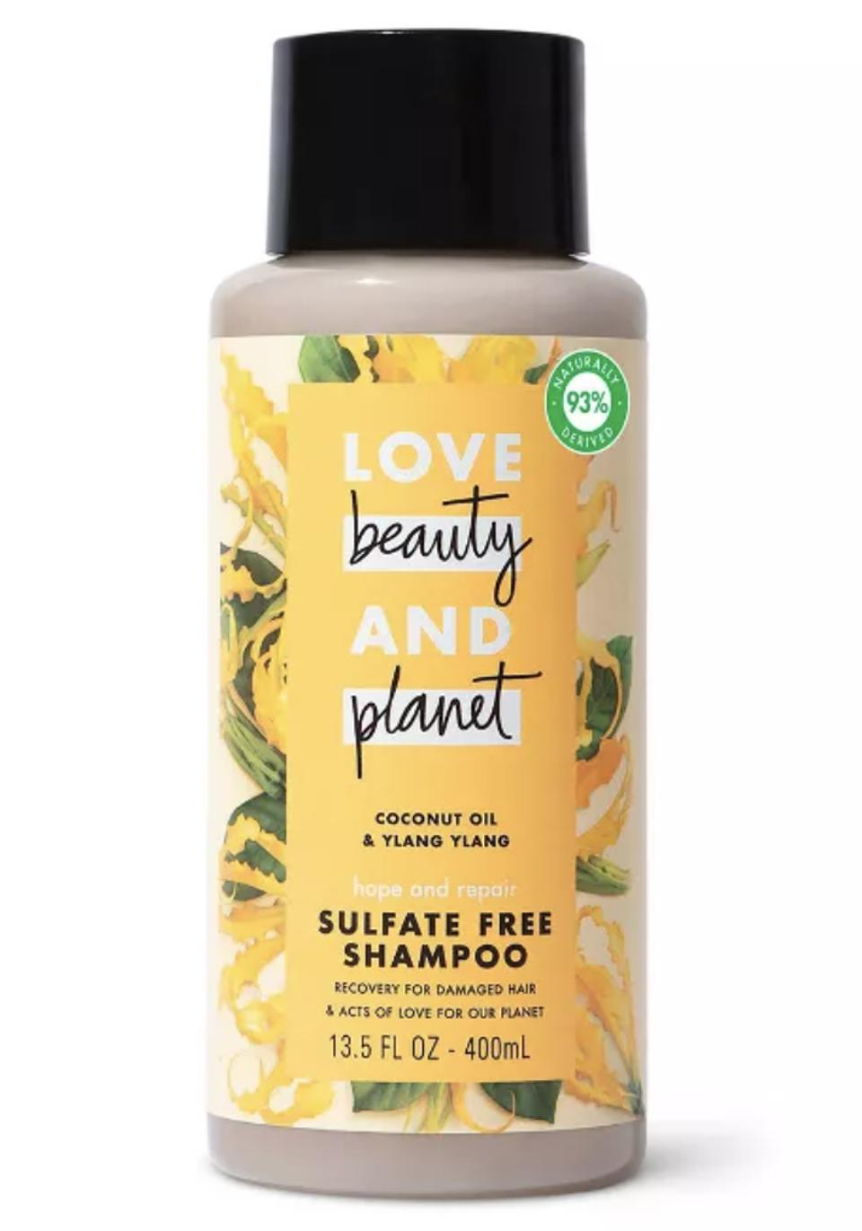 Love Beauty and Planet Hope and Hair Repair Sulfate-Free Shampoo