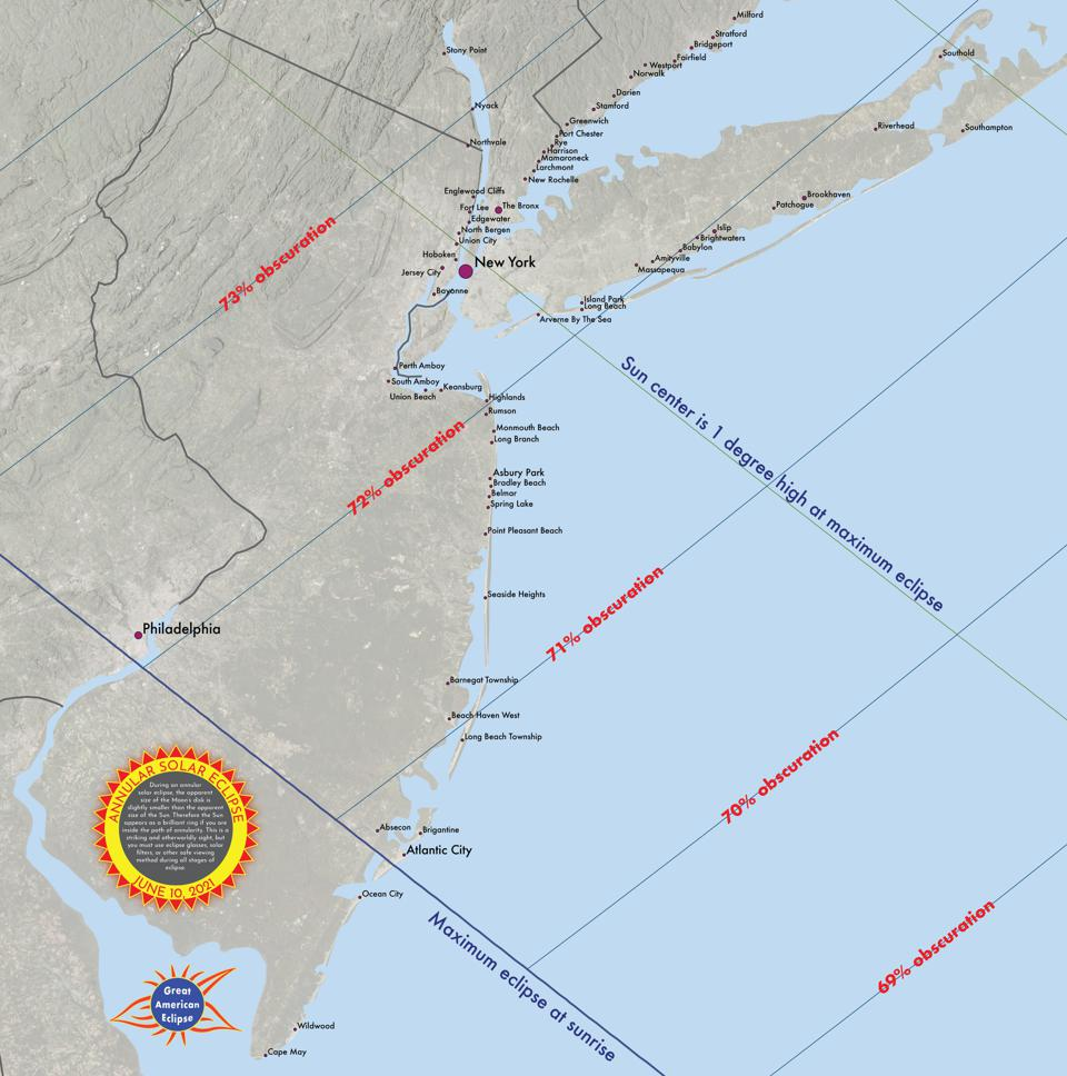 This is where to watch the June 10, 2021 partial solar eclipse from the U.S. Northeast.