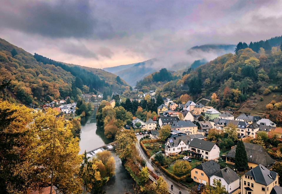 Vianden, Luxembourg, which is the top country in the Nomad Passport Index