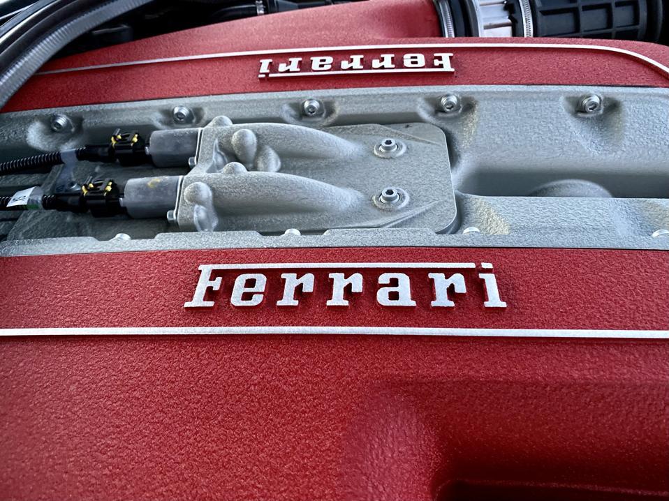 Front-engine Ferrari. The ultimate automotive jewelry box.