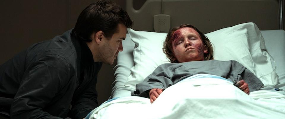 Emile Hirsch and Luke David Blumm in 'Son.'