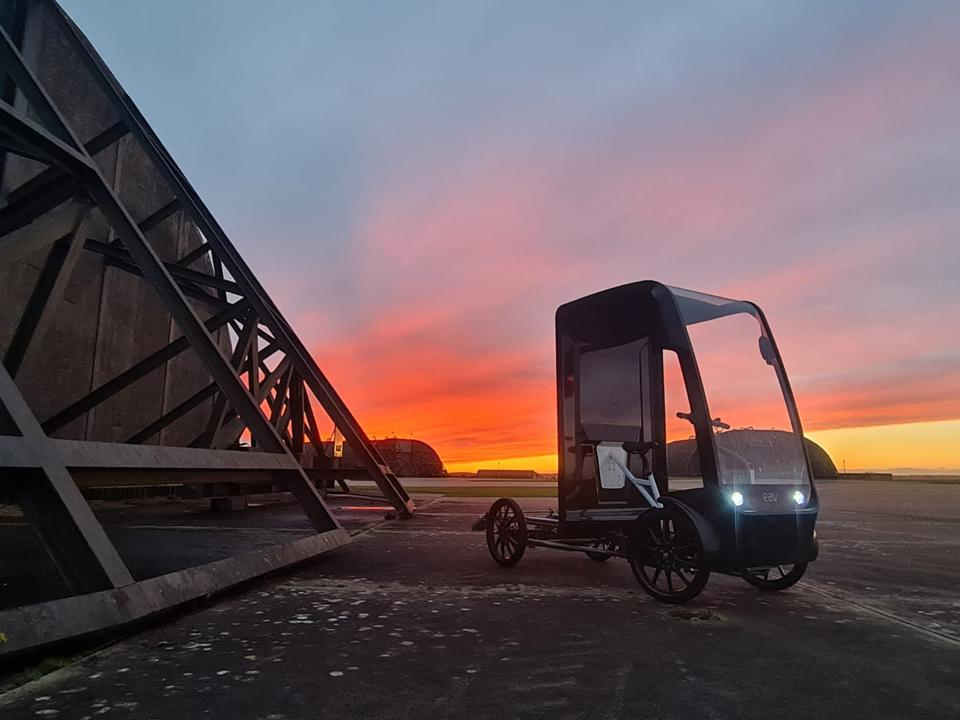 EAV plans to use the Revonte ONE drive in future cargo ebikes