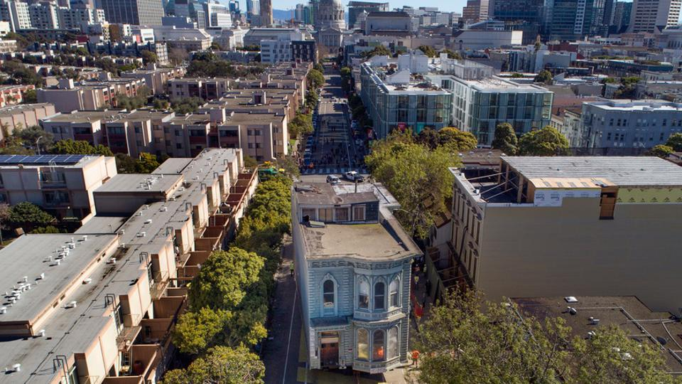 Those Self-Driving Cars In San Francisco And The Victorian House That Rolled Down The Middle Of The Street