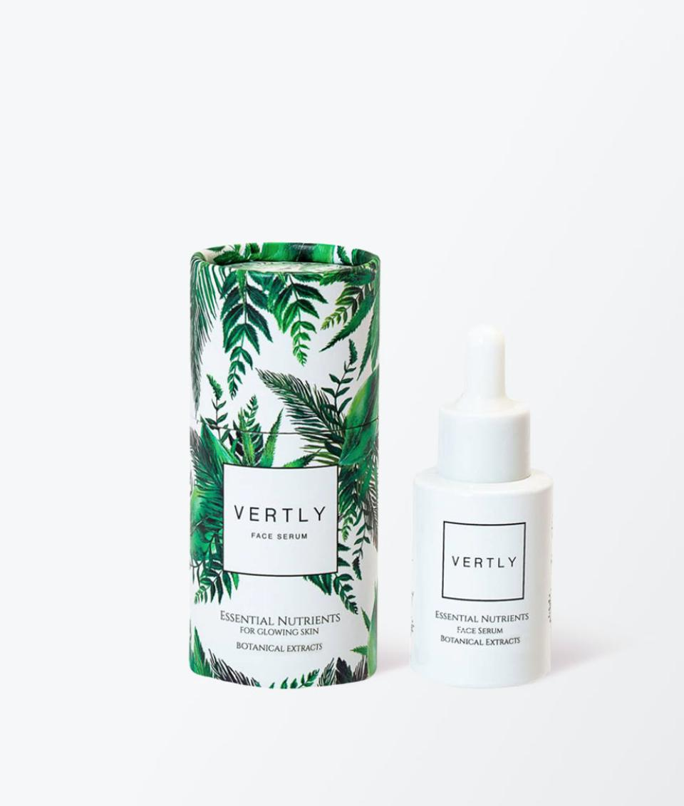 A face serum infused with CBD-oil from VERTLY