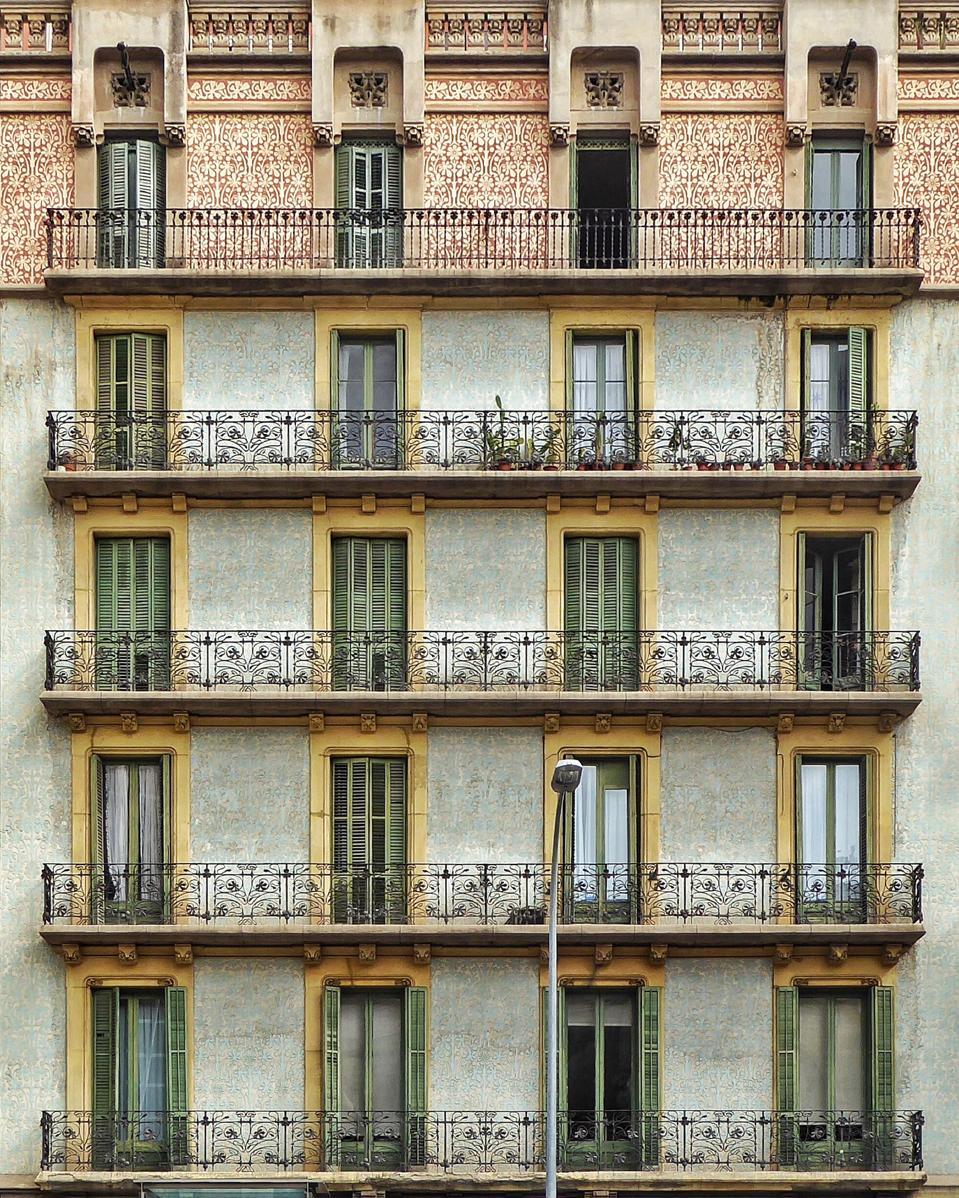 Cases Godó-Lallana in Eixample Barcelona