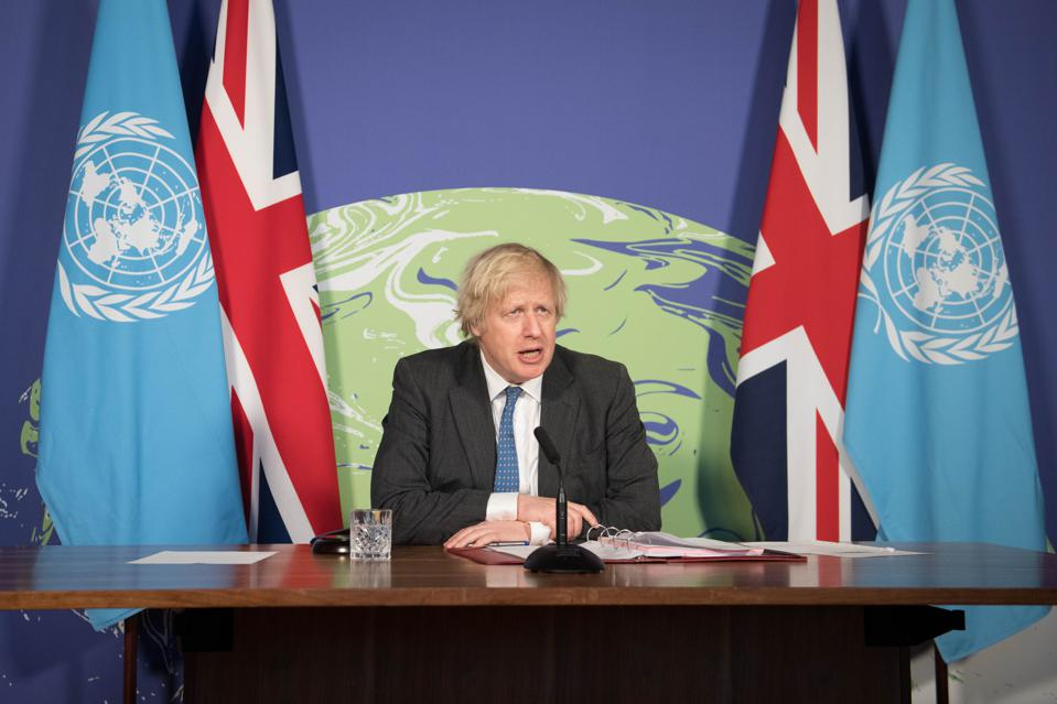 Boris Johnson Chairs UN Security Council Meeting On Climate Change
