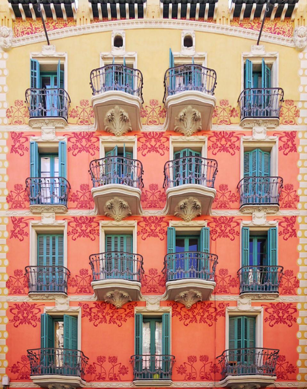 Casa Josep Creus Aymerich Barcelona architecture Eixample