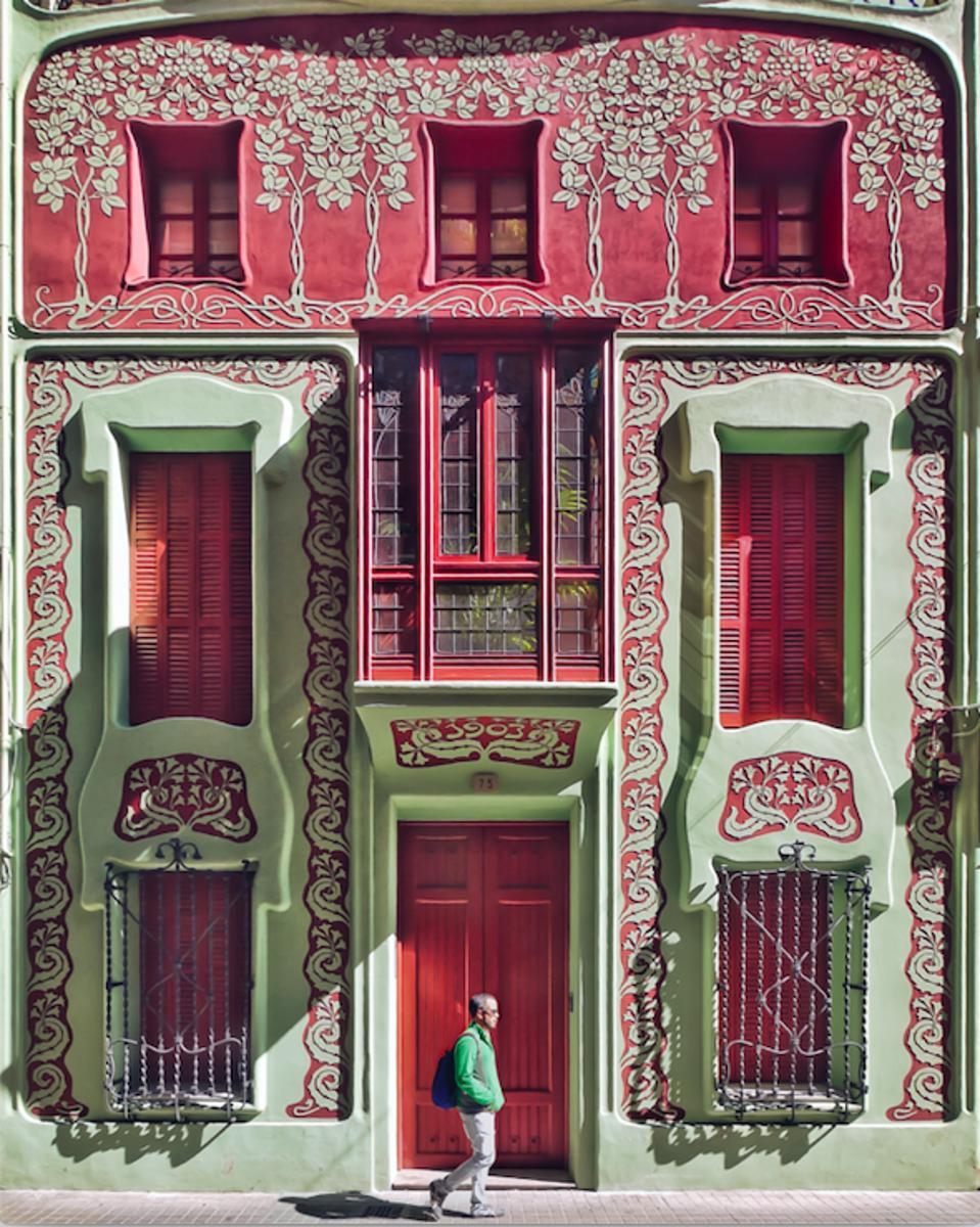 Casa Enric Ribalta Barcelona architecture