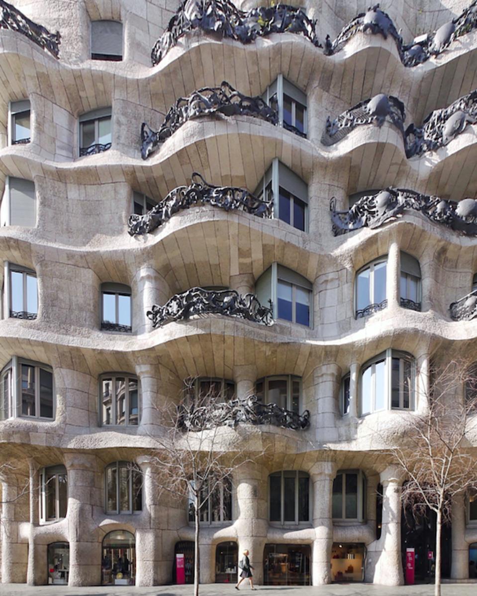 La Pedrera by Gaudi barcelona