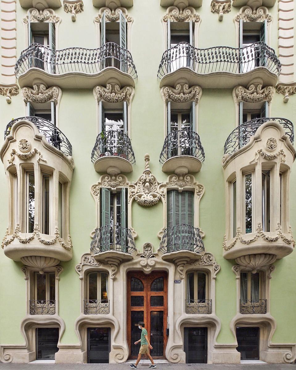Casa Pere Brias Barcelona architecture