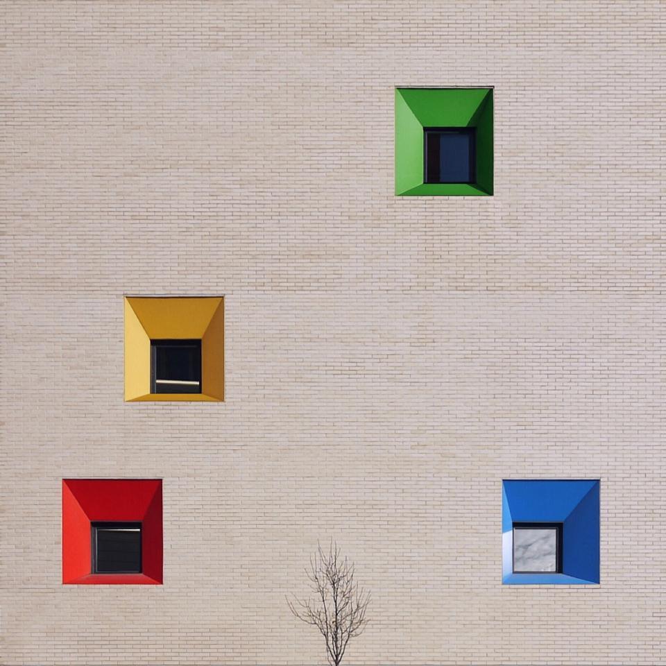 Màrius Torres School modern architecture Barcelona