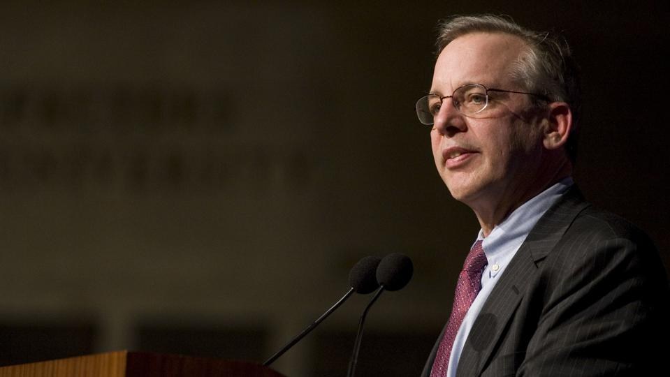 USA - Politics - Federal Reserve President William Dudley At Columbia University